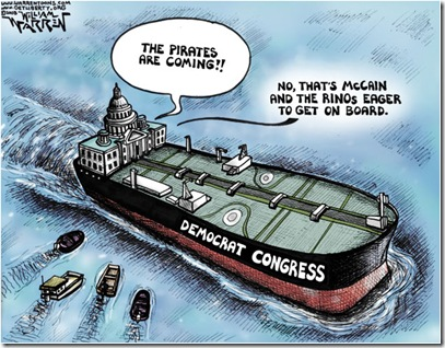 cartoon - get on board